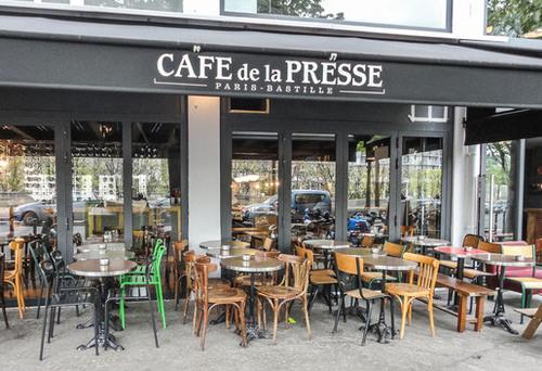 Café de la Presse - 36 Bd de la Bastille - Paris 12ème