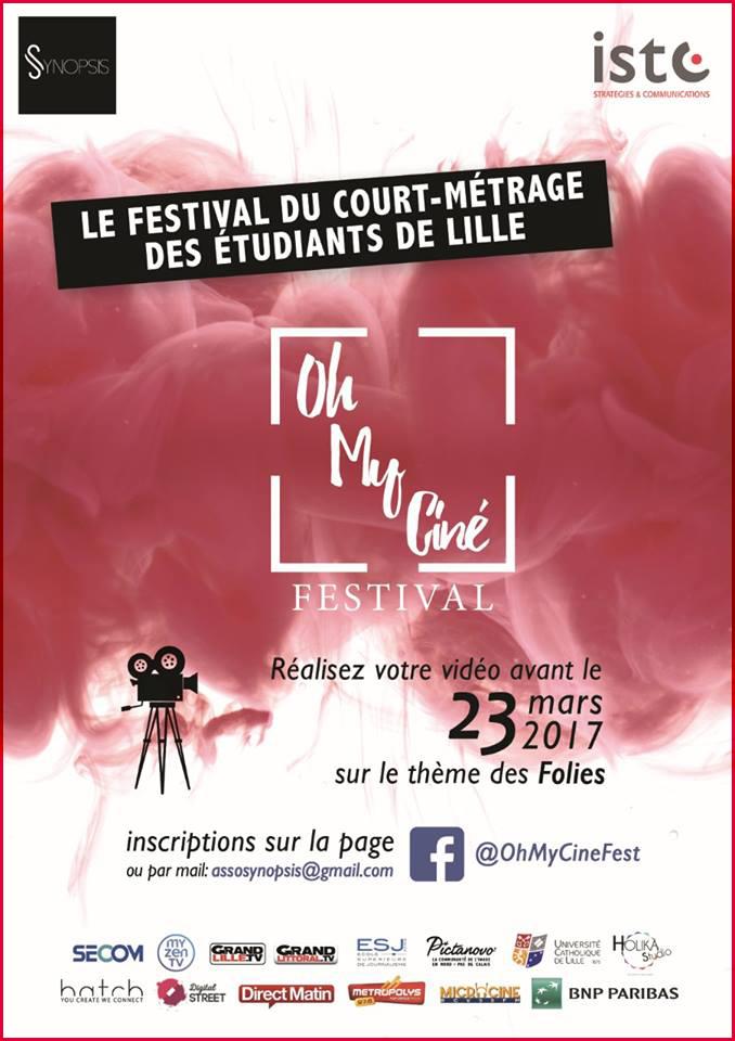 Oh my ciné ! Festival de court métrage proposé par Synopsis